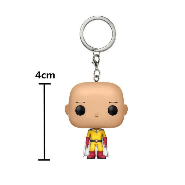 4cm Saitama keychain