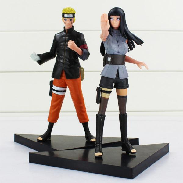 Naruto Figure and Hinata Figure