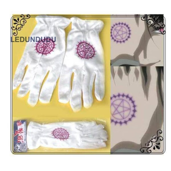 Edward Elric Gloves Card