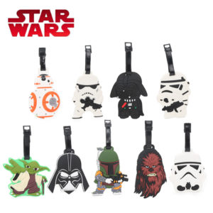 Star Wars Luggage Tags Design