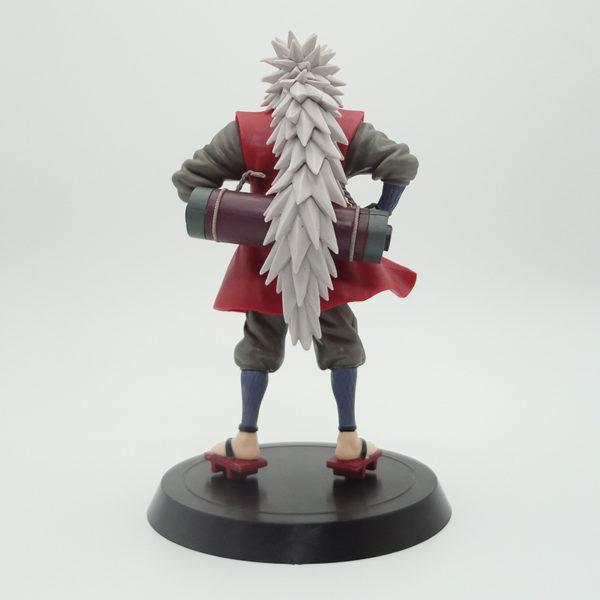Long White Hair Jiraiya Action Figure