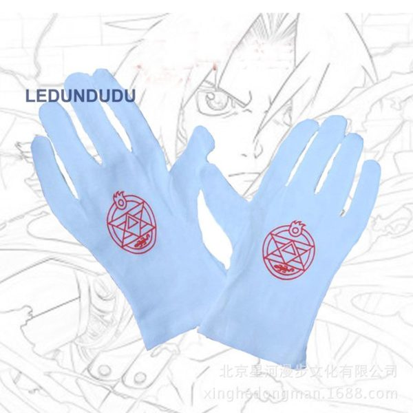 Edward Elric Gloves Anime