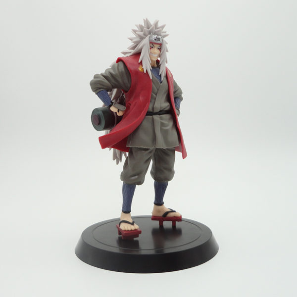 Jiraiya Action Figure with Red Wooden Slipper