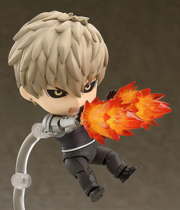 Genos Nendoroid on Fire