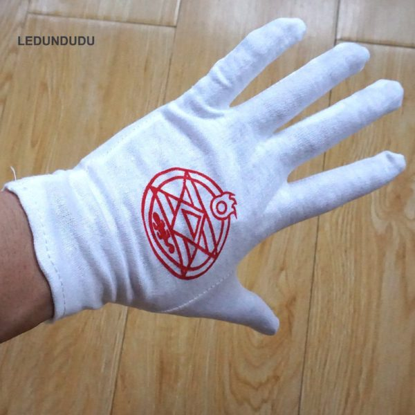 Edward Elric Gloves Wear
