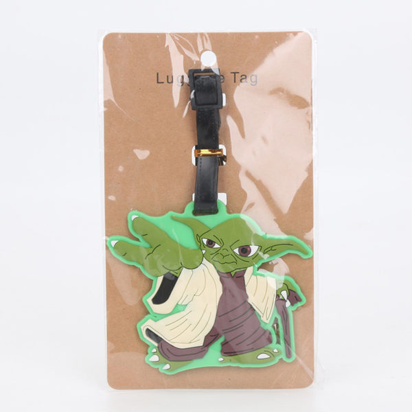 Star Wars Luggage Tags Yoda in Green