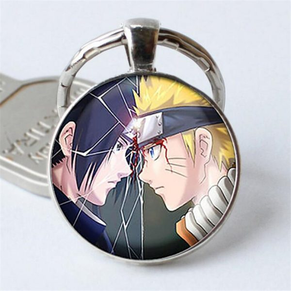 Naruto Keychain Pendant Sasuke