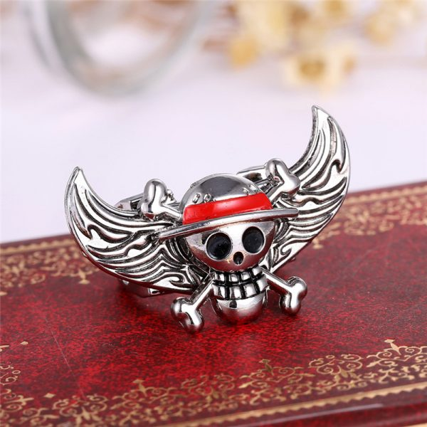 Anime Rings Cosplay one piece skull