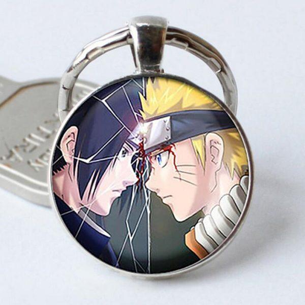 Naruto Keychain Vs Sasuke
