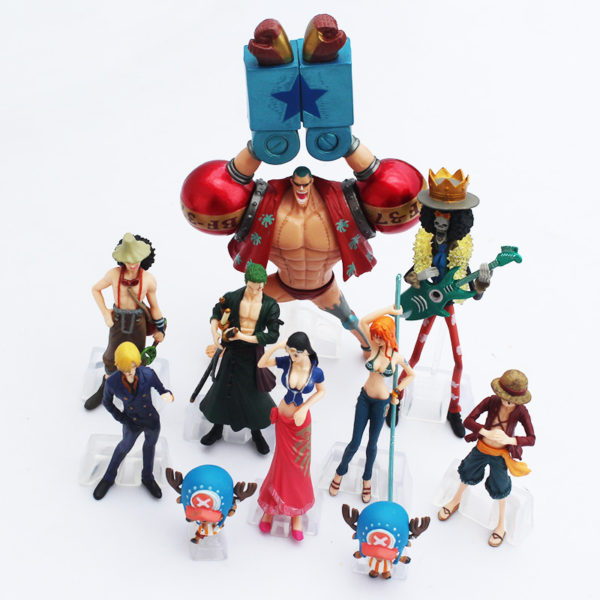 One Piece Action Figure Top Front view