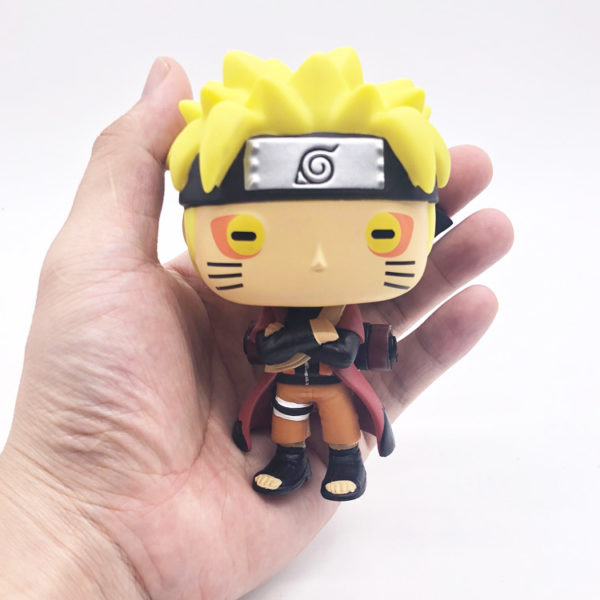 Naruto Doll in hand