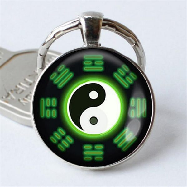 Naruto Keychain Pendant Green