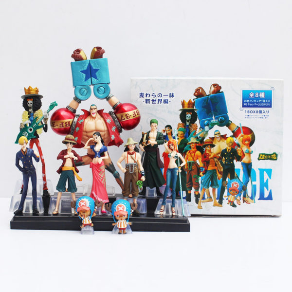 One Piece Action Figure with Box BG