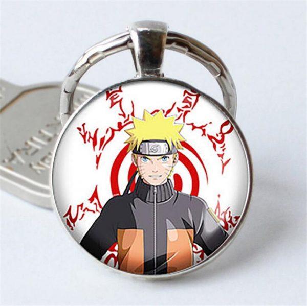 Naruto Keychain Pendant Serious