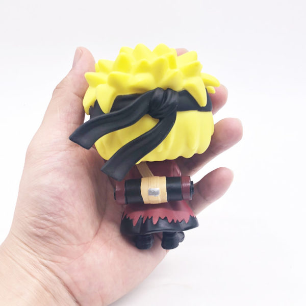Naruto Doll in hand back