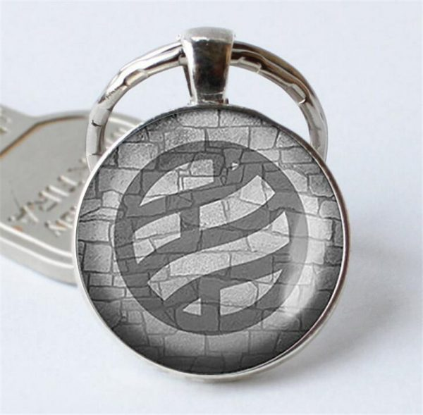 Naruto Keychain Pendant Black