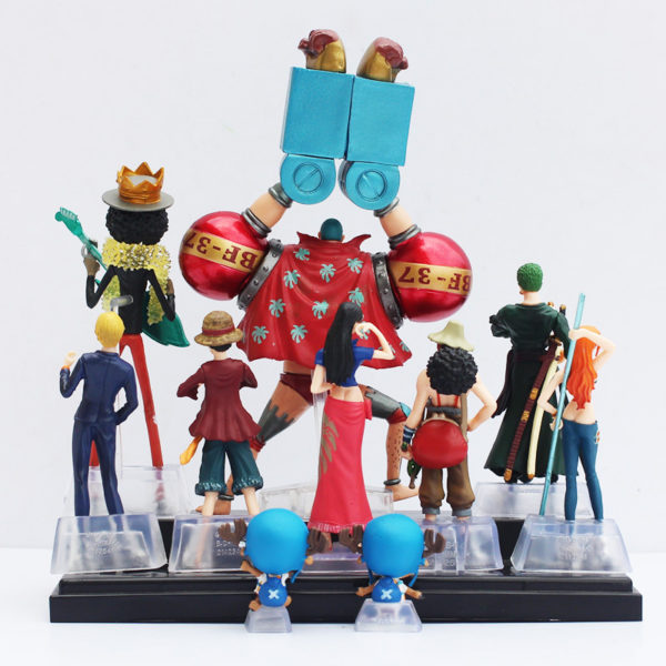 One Piece Action Figure Back View