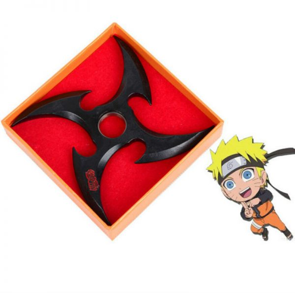 Black Shuriken Naruto Toys