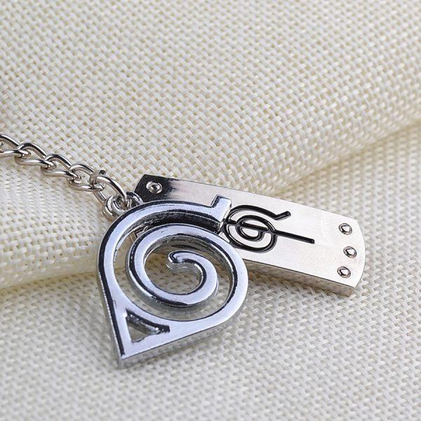 Logo Naruto Keychain