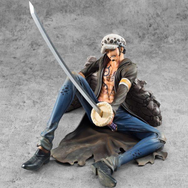 Trafalgar Law Action Figure with Mighty Sword