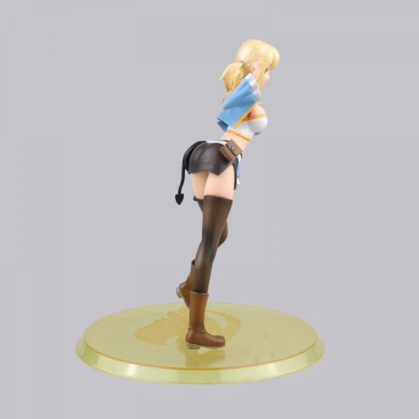 Lucy Heartfilia Figure Fairy Tail PVC Figure Collectible 3 Models Toy