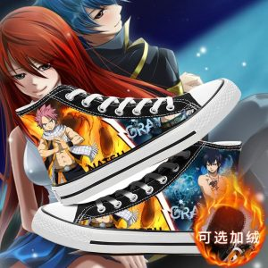 Fairy Tail Shoes For Men And Woman