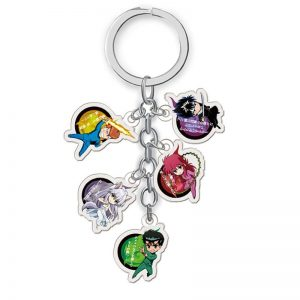 YuYu Hakusho Keychain Cartoon Figure