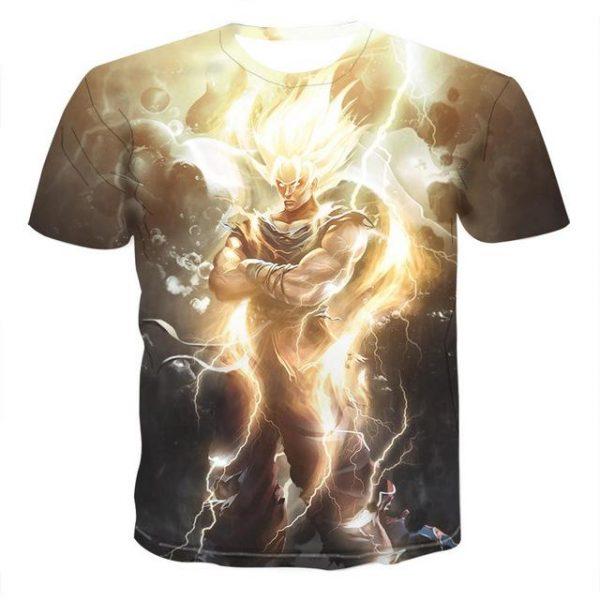 T-shirt Dragon Ball Z Super Saiyan Goku