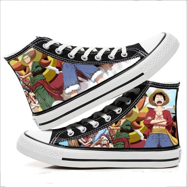 Anime One Piece Cosplay Fashion Shoes