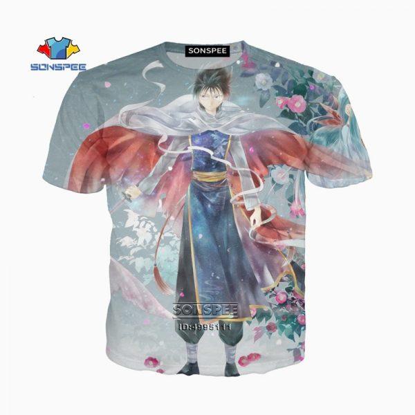 YuYu Hakusho 3D Print Unisex T-Shirt