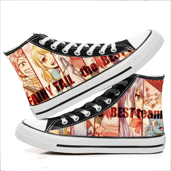 Fairy Tail Cosplay Canvas Shoes
