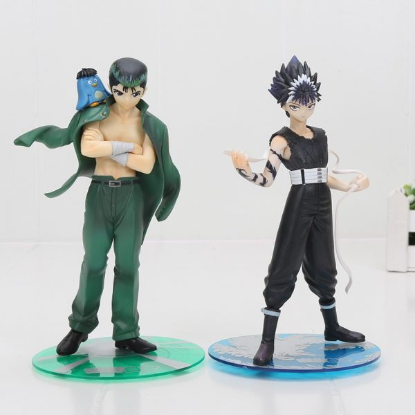 YuYu Hakusho Urameshi Yuusuke Hiei Action Figure Collection