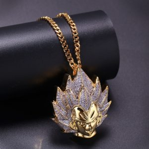 Dragon Ball Supper Saiyan Goku Necklace Pendant