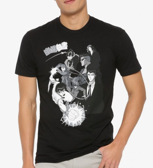 Yu Yu Hakusho Tonal Group T-Shirt