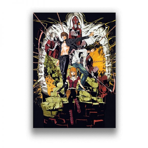 Death Note HD Prints Wall Decoration
