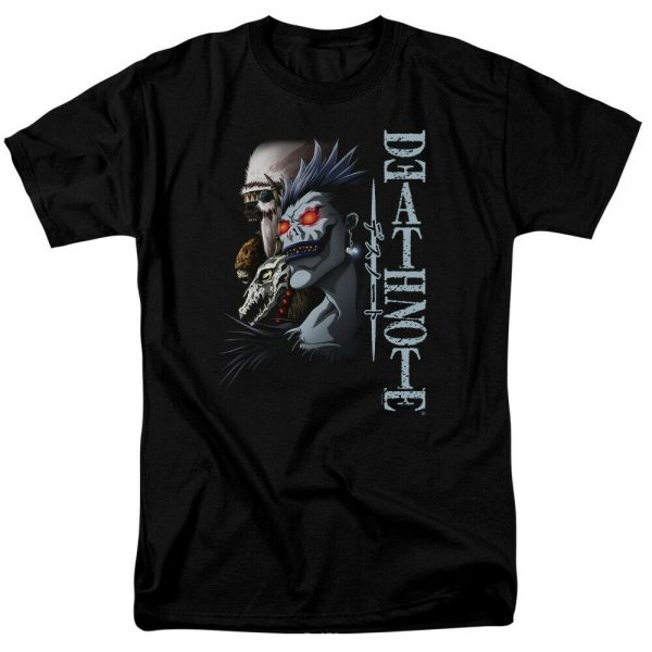 Death Note Shinigami Licensed Adult T Shirt