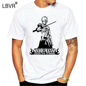 Ichigo Kurosaki Bleach Shinigami Anime Mens T Shirt