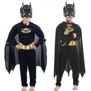 Children Vampire Muscle batman Costumes
