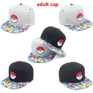 Pikachu Cartoon Printed Baseball Cap