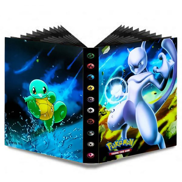 240pcs Cartoon Pokemons Cards Album Collections Toys Folder Binder