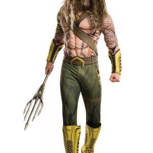 Aquaman Costume Justice League Superhero Cosplay