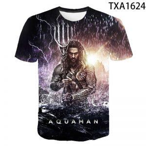 Aquaman 3D Printed T Shirt