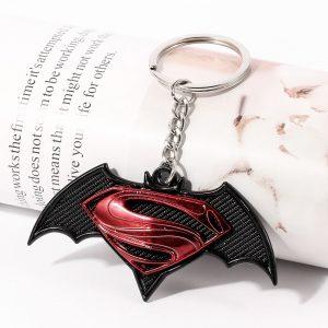 Batman Logo Pendant Keychain