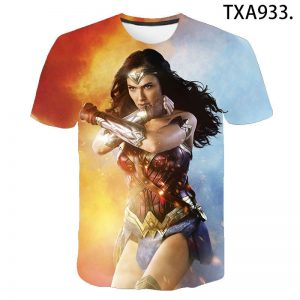 Wonder Woman 3D T Shirts