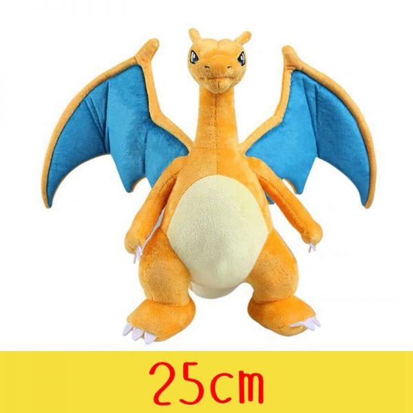 Charmander Squirtle Pikachued Bulbasaur Jigglypuff Lapras Eevee Anime Stuffed Toy