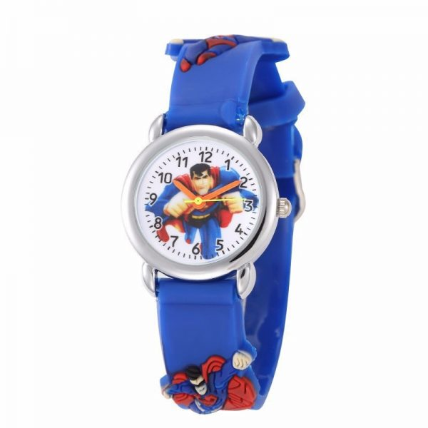 Superman Action Figures Toys With Watch