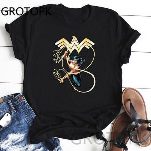 Wonder Woman O-Neck T-Shirt