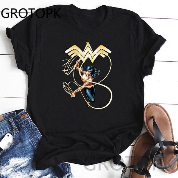 Wonder Woman O-Neck T-Shirt