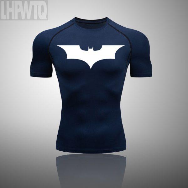 Batman Men's Fitness Sports T-shirt