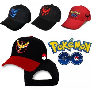 Pokemon Baseball Cap Pikachu Unisex Cartoon Printed